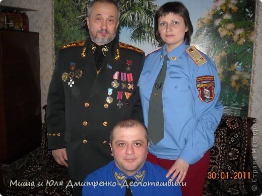 14 октября отмечался на Украине день козацтва. Пусть и с небольшим опозданием, но родилась у нас вот такая работа!  фото 2