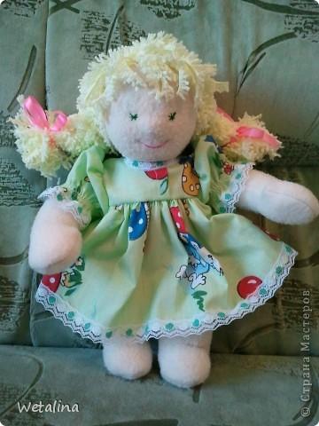 Маленькая куколка для маленькой девочки 1 годик!!! фото 1