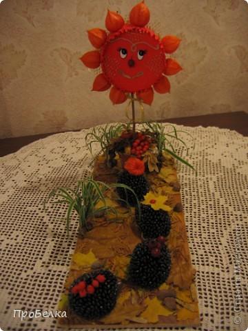 Жила-была Осень Золотая. Богатая, урожайная. Да потеряла где-то лучик свой золотой... Расстроилась Осень... фото 2