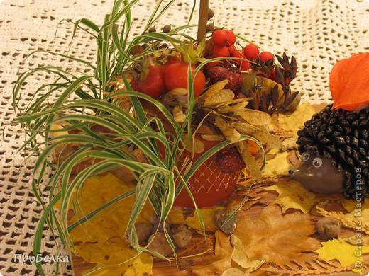 Жила-была Осень Золотая. Богатая, урожайная. Да потеряла где-то лучик свой золотой... Расстроилась Осень... фото 8