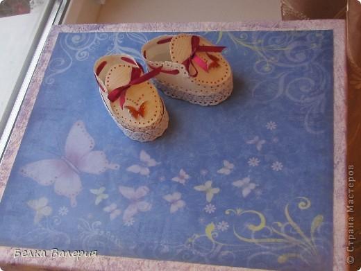 Сделала подарочную коробку для моего альбома http://stranamasterov.ru/node/250659 фото 2