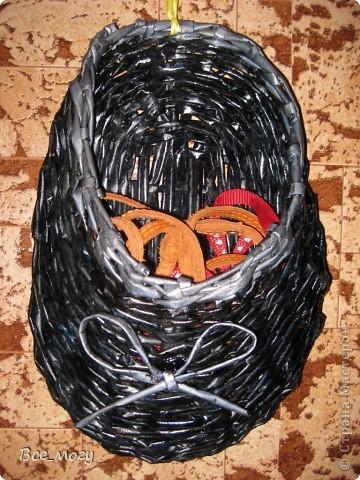 """В коридоре висит на стене, использую для поводков и шлеек своего пекинеса( так как гуляем 3 раза на дню) раньше постоянно поводок лежал на тумбочке- сейчас на своем месте в """"тапке"""")))) фото 1"""