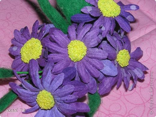 Такими цветочками можно украсить и себя любимую и подарочек для любимого и летнюю дамскую шляпку ... фото 2