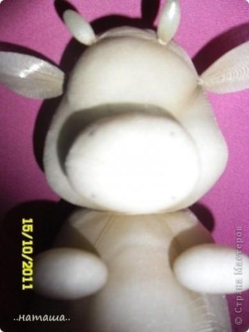 Коровка из капрона. МК фото 13