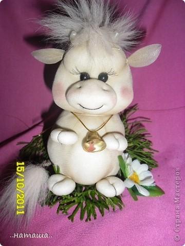 Коровка из капрона. МК фото 1