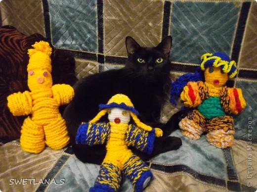 Вязанные куклы фото 2