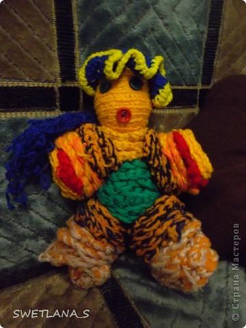 Вязанные куклы фото 3