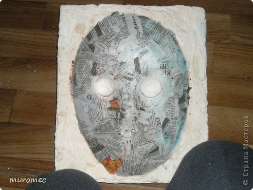 Год выполнения 2010. ----------------------------- Доработано в 2011. ----------------------------- Создание маски Jason,а (Пятница 13е) фото 9