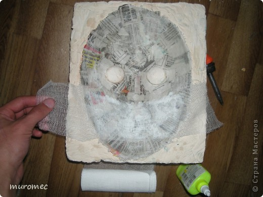 Год выполнения 2010. ----------------------------- Доработано в 2011. ----------------------------- Создание маски Jason,а (Пятница 13е) фото 10