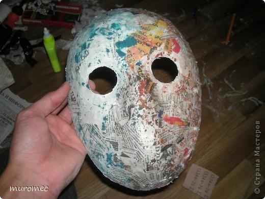 Год выполнения 2010. ----------------------------- Доработано в 2011. ----------------------------- Создание маски Jason,а (Пятница 13е) фото 11