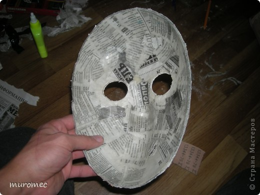 Год выполнения 2010. ----------------------------- Доработано в 2011. ----------------------------- Создание маски Jason,а (Пятница 13е) фото 12
