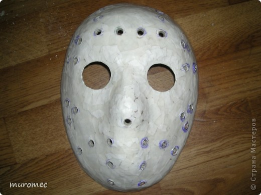 Год выполнения 2010. ----------------------------- Доработано в 2011. ----------------------------- Создание маски Jason,а (Пятница 13е) фото 13