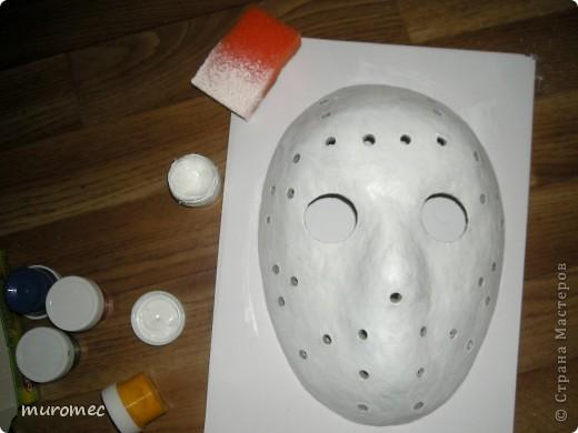 Год выполнения 2010. ----------------------------- Доработано в 2011. ----------------------------- Создание маски Jason,а (Пятница 13е) фото 14