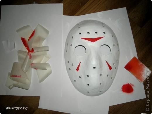 Год выполнения 2010. ----------------------------- Доработано в 2011. ----------------------------- Создание маски Jason,а (Пятница 13е) фото 16
