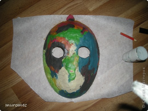 Год выполнения 2010. ----------------------------- Доработано в 2011. ----------------------------- Создание маски Jason,а (Пятница 13е) фото 2