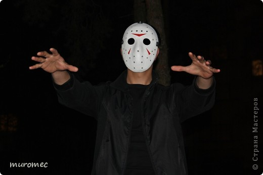Год выполнения 2010. ----------------------------- Доработано в 2011. ----------------------------- Создание маски Jason,а (Пятница 13е) фото 18