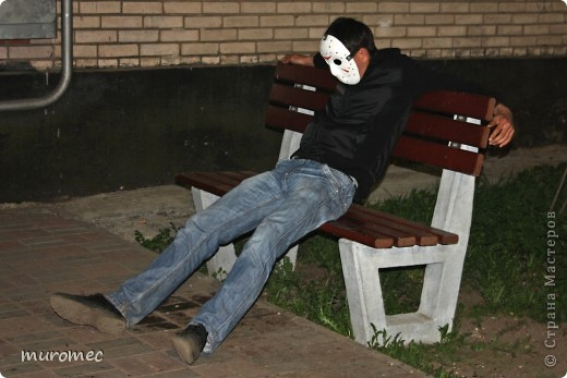 Год выполнения 2010. ----------------------------- Доработано в 2011. ----------------------------- Создание маски Jason,а (Пятница 13е) фото 21