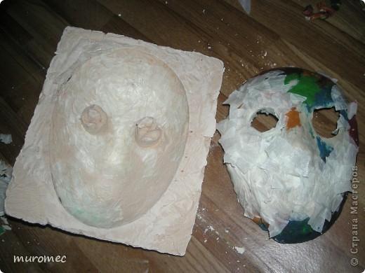 Год выполнения 2010. ----------------------------- Доработано в 2011. ----------------------------- Создание маски Jason,а (Пятница 13е) фото 8