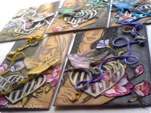 """Вот и закончилась наша игра! Очень приятно было получать все эти карточки, общаться, обсуждать какие-то детали..:)Спасибо Олисандре, что дала такую возможность: http://stranamasterov.ru/node/211670 Я получила (как считаю) ооооочень красивые """"ключики души""""!Есть и карточки со смыслом, а есть просто шикарные ключики!Наша команда: 1) Я (командир) :) 2)АлЁнА. К.  3)AnnaDemakova 4)tvvlasova1 5)Yuliya L  Хочу немножко похвастаться: фото 18"""