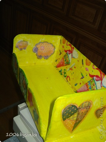 Вот такое панно в подарок, оно правда сделано в более розовых тонахи с двухшаговым кракле, но фотик почему то не передал эти нюансы. фото 6
