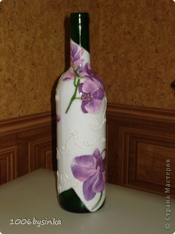Вот такое панно в подарок, оно правда сделано в более розовых тонахи с двухшаговым кракле, но фотик почему то не передал эти нюансы. фото 7