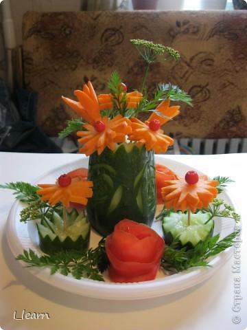 Овощной букетик фото 1
