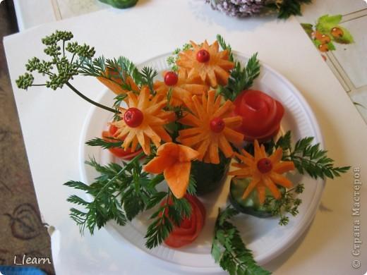 Овощной букетик фото 2
