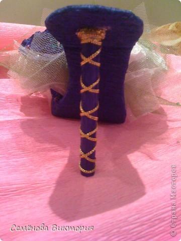 Ура!я сделала свою первую туфельку!!!!!! фото 3