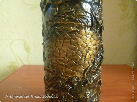 Вот такая бутылочка у меня получилась! Я еще только учусь декорировать предметы, решила выставить свою работу и показать ее со всех сторон, очень хочу чтобы Вы ее оценили!:) фото 7