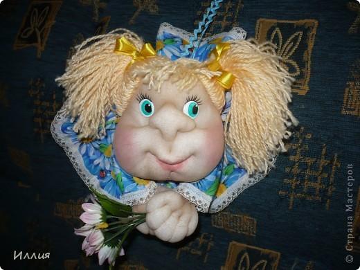 Ну и куда же без попика?! Конечно и я сделала куколку на удачу. Но так как времени было мало, то всего одну. Кстати она ушла одной из первых!!! И еще попросили сделать!!! фото 1