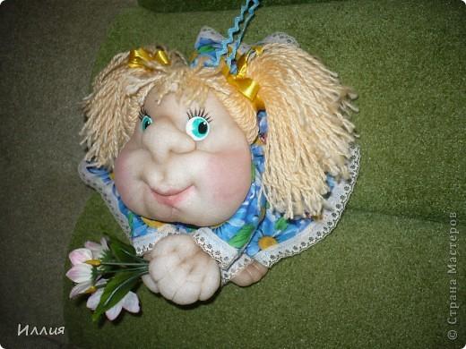 Ну и куда же без попика?! Конечно и я сделала куколку на удачу. Но так как времени было мало, то всего одну. Кстати она ушла одной из первых!!! И еще попросили сделать!!! фото 3