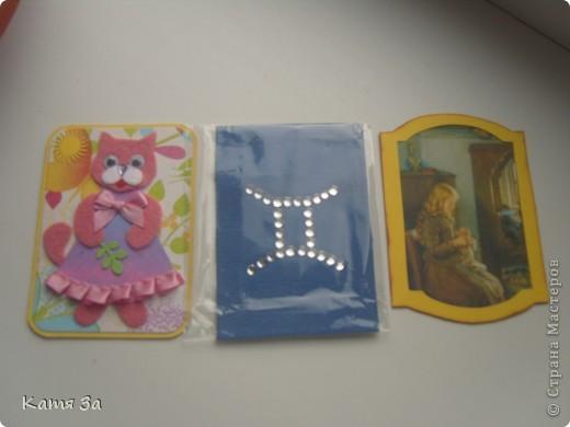 """В последнее время я увлеклась декупажем, и решила сделать серию в этой технике. Фон карточки катон+акриловая краска, ажурная салфетка использованна как трафарет (а не приклеена). АТС """"лаванда"""", для создания серии я использовала канву, салфетки, акриловые краски и микробисер.  Приглашаю кредиторов: bibka, bagira, Nono4ka и Алин@. И всех-всех, кому понравится!  Карточки на новеньком """"лавандовом"""" подносе. :))) фото 9"""
