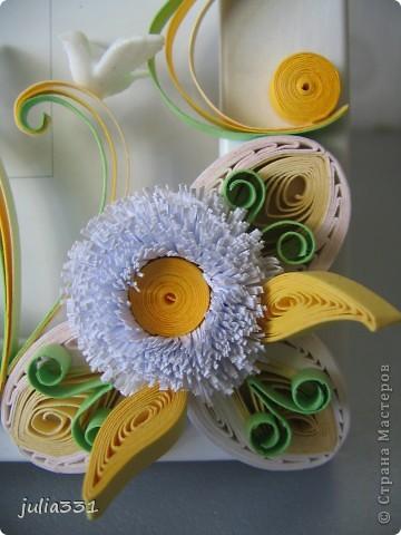 Эту рамочку сделала в подарок друзьям по их возвращению из свадебного путешествия, в дополнение к http://stranamasterov.ru/node/222394 фото 3
