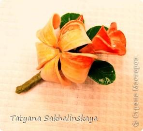 Восточный цветок-заколка