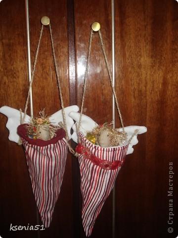 Новогодние конвертики. Их можно даже повесить на елку фото 1