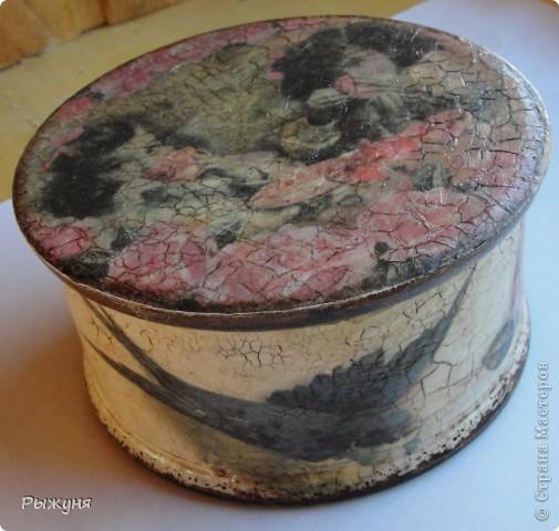 Всем  жителям СМ  приветик и наилучшие пожелания! Тема не моя, но приглянулась рисовая карта с розами и сделала вот такой комплект - тарелка -панно( диаметр 30 см) и шкатулка фото 7