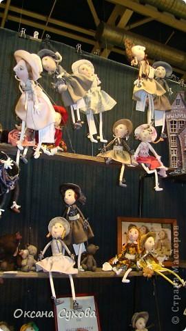 7 Международный Салон Кукол Москва ТЦ Тишинка /4 часть/ фото 3