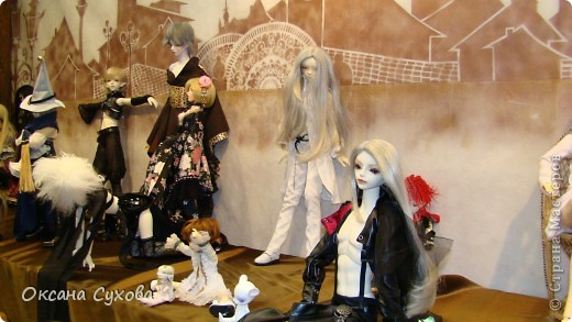7 Международный Салон Кукол Москва ТЦ Тишинка /5  часть/ фото 10