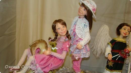 7 Международный Салон Кукол Москва ТЦ Тишинка /5  часть/ фото 16