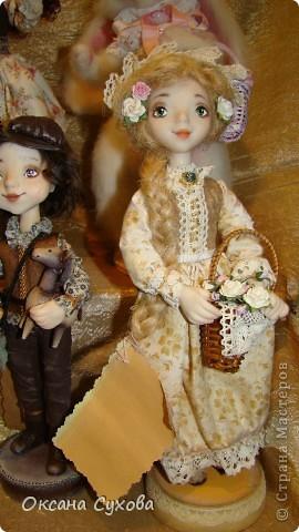 7 Международный Салон Кукол Москва ТЦ Тишинка /5  часть/ фото 81