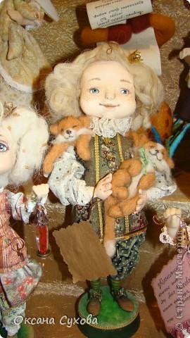 7 Международный Салон Кукол Москва ТЦ Тишинка /5  часть/ фото 83