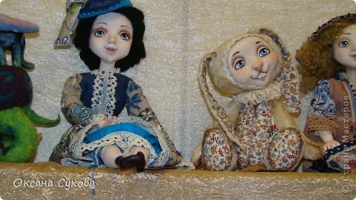 7 Международный Салон Кукол Москва ТЦ Тишинка /5  часть/ фото 84