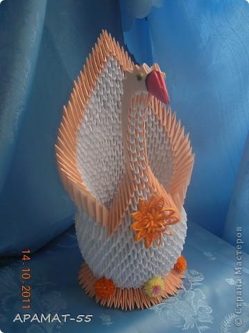 Очень увлекло модульное оригами. Как получилось судить Вам.