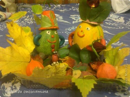 Осенние поделки моей доченьки фото 2