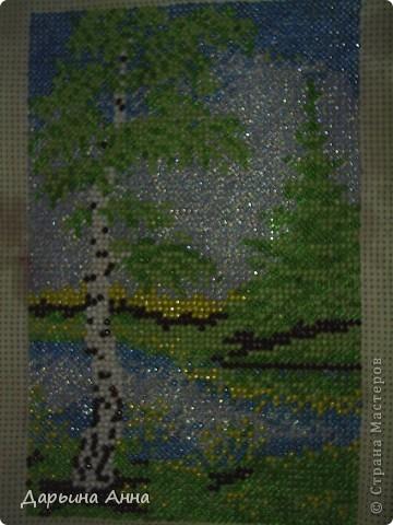 Моя первая работа в технике вышивание бисером фото 1