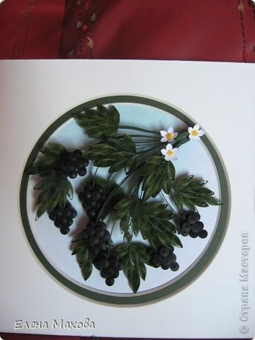 Ура! Наконец-то и в моем саду созрели ягодки. Это тоже работа с курсов. А сейчас уже тружусь над цинниями. фото 2