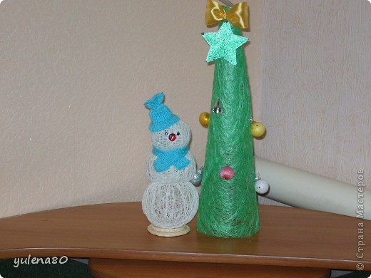 Снеговик и елочка фото 4