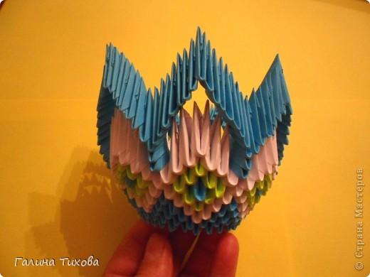 Модульное оригами - конфетница новые фото