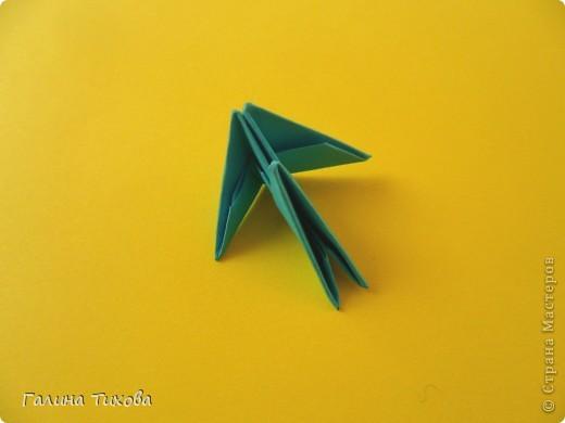 Модульное оригами - Конфетница из модулей Мастер-класс.