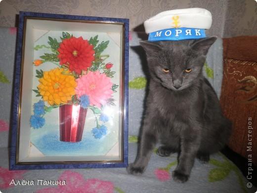 Вот такие Георгины вышли, Миша одобрил)))))) фото 1